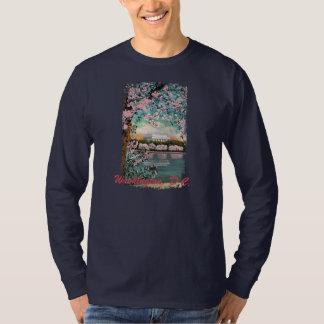 Cherry Blossoms Painted Men's Shirt
