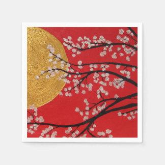 Cherry Blossoms - paper Napkins