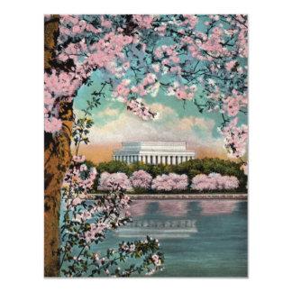 Cherry Blossoms Party Invitation