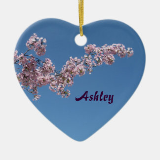 Cherry Blossoms Personalized Ornament