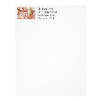 Cherry Blossoms Photo Letterhead
