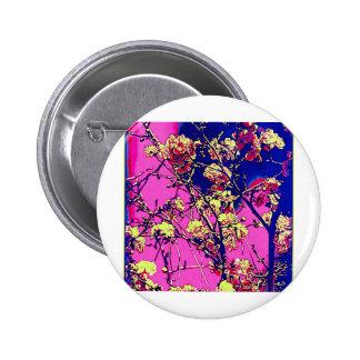 Cherry Blossoms Pinback Button