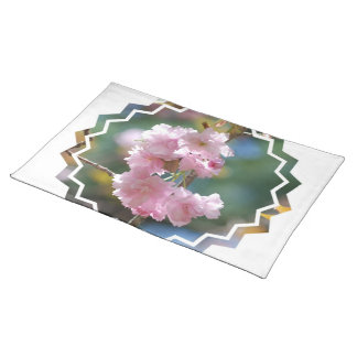 Cherry Blossoms Placemat Cloth Placemat