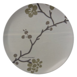 Cherry Blossoms Dinner Plate