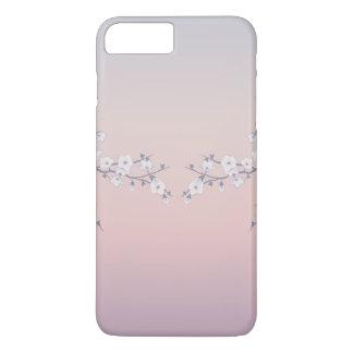Cherry Blossoms Rose Gradient iPhone 7 Plus Case