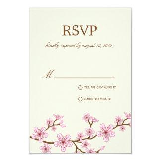 CHERRY BLOSSOMS | RSVP 3.5X5 PAPER INVITATION CARD