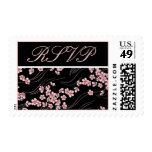 Cherry Blossoms RSVP Postage