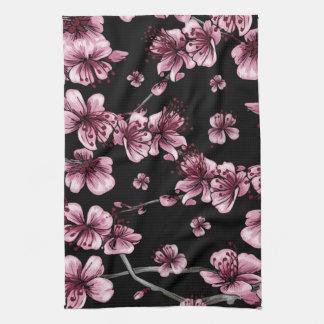 Cherry Blossoms Sakura Hand Towel