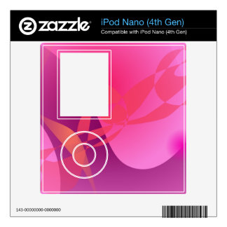 Cherry Blossoms Decals For iPod Nano 4G