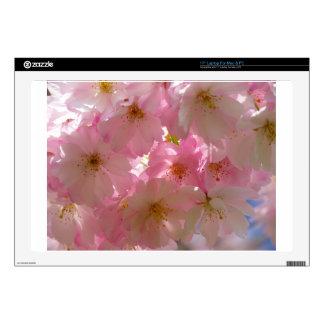 "Cherry Blossoms 17"" Laptop Skin"