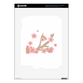 Cherry Blossoms Decal For iPad 3