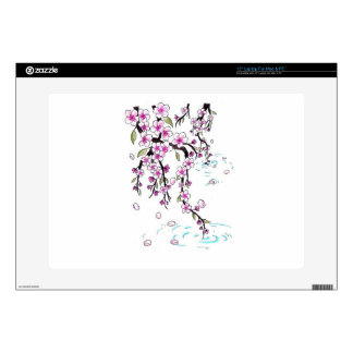 Cherry Blossoms Laptop Decals