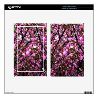 Cherry Blossoms Skin For Kindle Fire