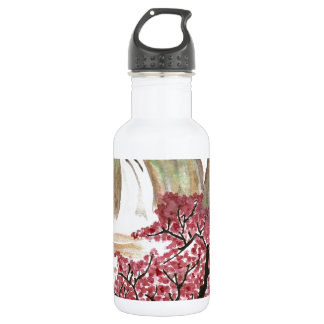 Cherry Blossoms Stainless Steel Water Bottle