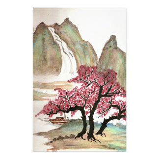 Cherry Blossoms Stationery