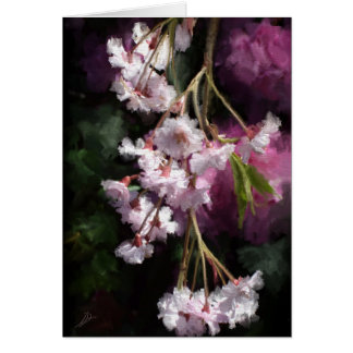 Cherry Blossoms Stationery Note Card
