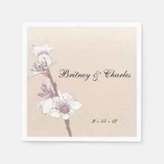 Cherry Blossoms Paper Napkin
