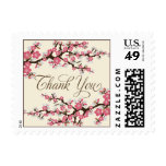 Cherry Blossoms Thank You Stamp (rose pink)