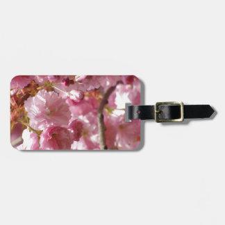 Cherry Blossoms Travel Bag Tag