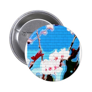 Cherry Blossoms Tree Pin