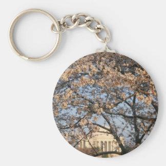 Cherry Blossoms Washington DC Keychain