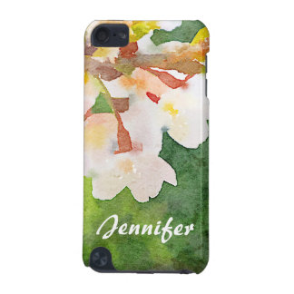 Cherry Blossoms Watercolor Sakura Flowers Spring iPod Touch 5G Case