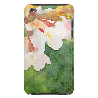 Cherry Blossoms Watercolor Sakura Flowers Spring iPod Touch Cases