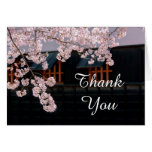 Cherry Blossoms Wedding Thank You Note Cards