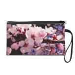 Cherry Blossoms Wristlet Purse