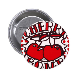 Cherry bomb design button