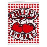 Cherry bomb design cards
