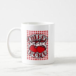 Cherry bomb design coffee mug