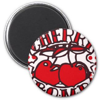 Cherry bomb design magnets