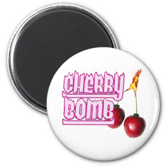 Cherry Bomb Fridge Magnets