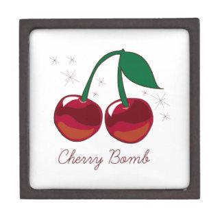 Cherry Bomb Premium Jewelry Box