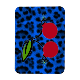 Cherry Bomb Vinyl Magnet