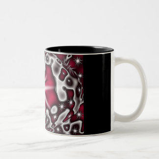 cherry bomb Two-Tone coffee mug