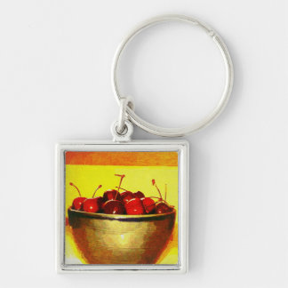 Cherry Bowl Keychain