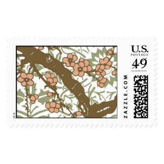 Cherry Branch in Pink Postage