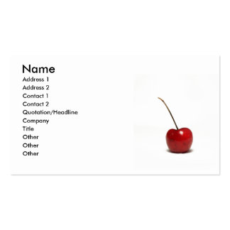 cherry business cards