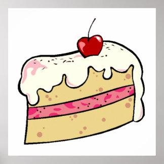Cherry Cake Poster