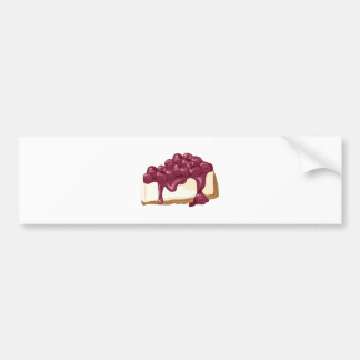 Cherry Cheesecake Bumper Sticker