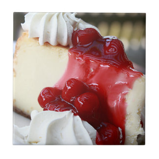 Cherry Cheesecake Tile