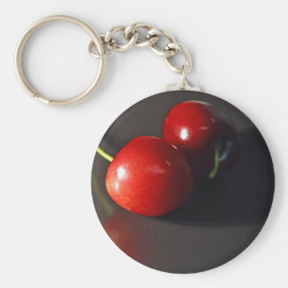 cherry-cherries-fruit keychain