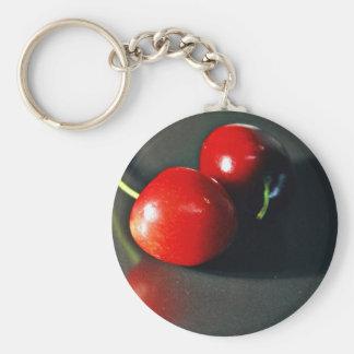 Cherry Cherries Fruit Keychain