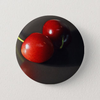 cherry-cherries-fruit pinback button