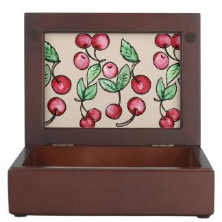 Cherry Cherries Keepsake Box
