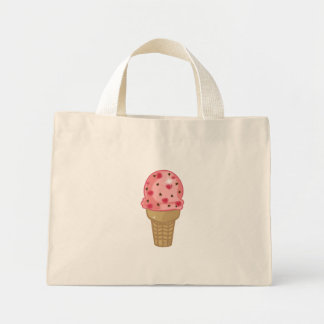 Cherry Chocolate Chip Mini Tote Bag