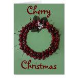 Cherry Christmas Card