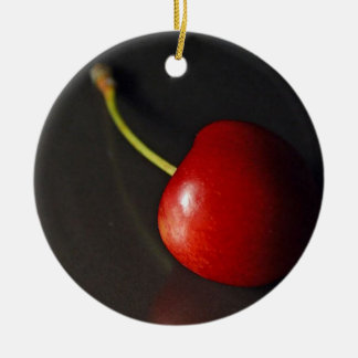 Cherry Christmas Tree Ornaments